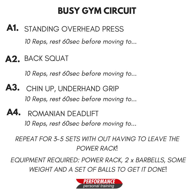 Gym circuit