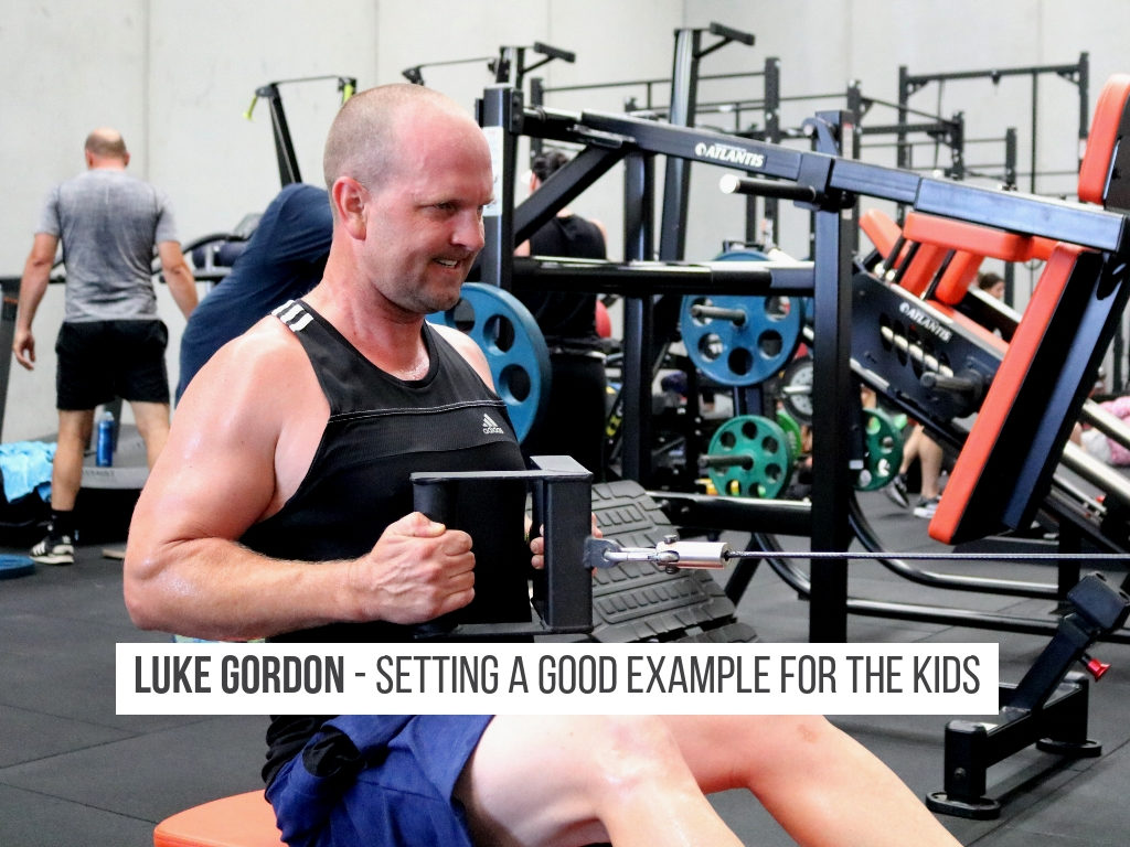 Looking after your own health as a parent, great example to set for your kids