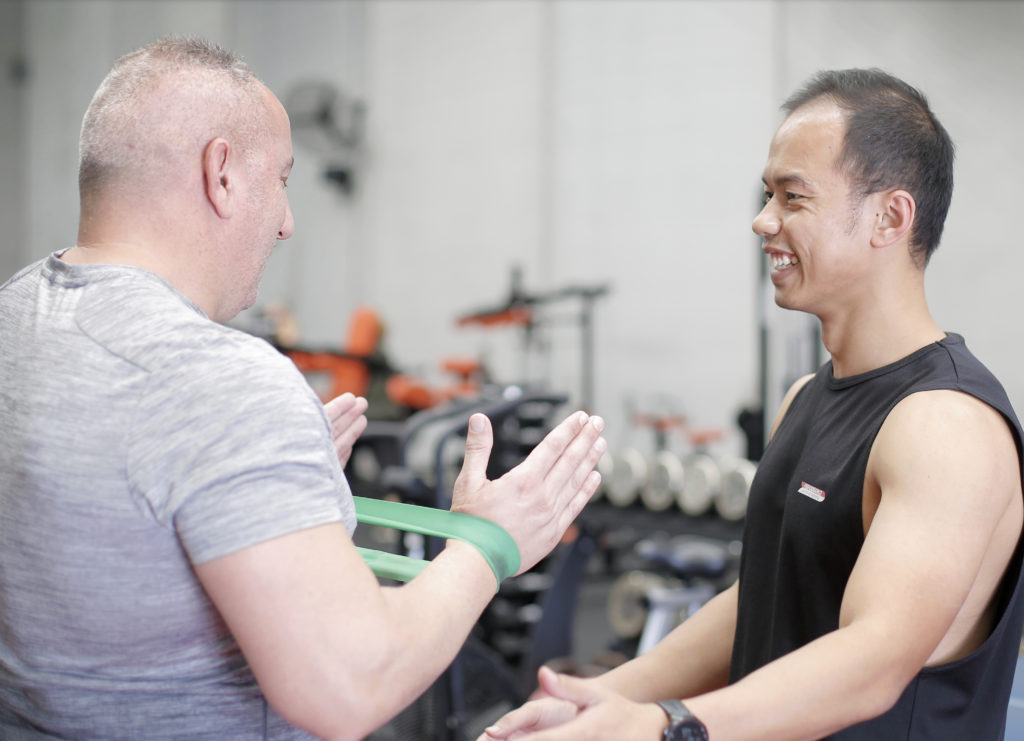 personal trainers and coaches