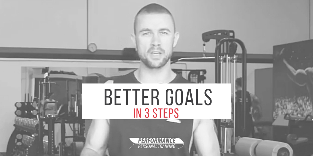 Better Goals with 3 Steps