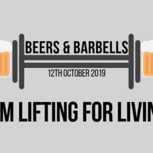 Beers and Barbells Lifting for Livin' fundraiser event -Performance PT, Gregory Hills, Camden, Sydney NSW