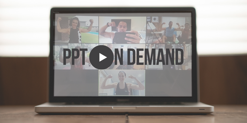 Performance PT on demand online group fitness coaching sessions